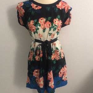 Floral Summer Work Dress